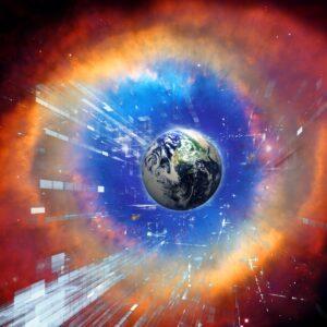 Gottes Auge 100x100cm